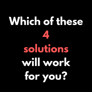 Which one of these four solutions will help your business?