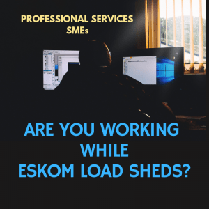SMBs are you while there's load shedding?