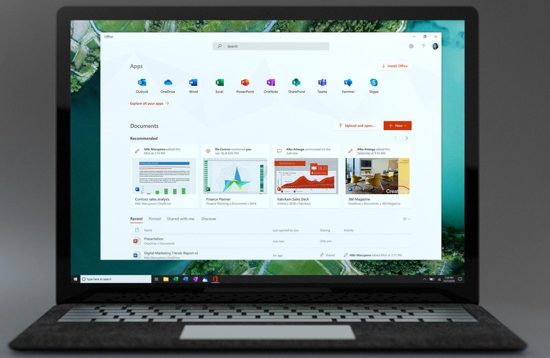 Free Office app for Windows 10